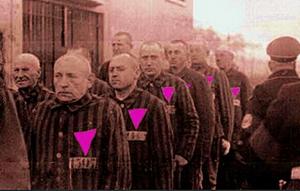 Pink Trangle prisoners