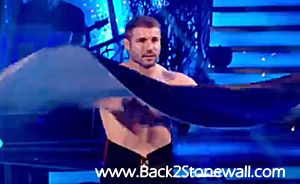 Shirtless Neb Cohen Strictly Come Dancing