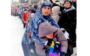 Gay protestor Sochi