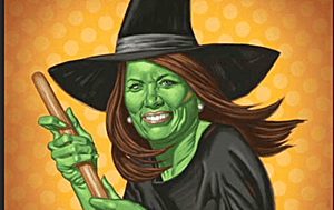 Michele Bachman wicked witch