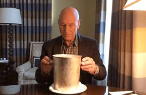 Patrick Stewart Ice Bucket Challange