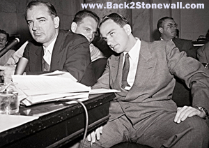 "JSeptember 7, 1952:  Sen. Joseph McCarthy Brags About The Destruction of 145 Gay ""Deviate"" Lives"