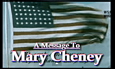 A Message to Mary Cheney