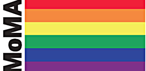 MoMA Rainbow flag