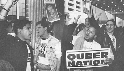 "Today In Gay:  June 16th: Queer Nation ""Takes Back The Night"" Activist Michelangelo Signorile Gets Arrested!-  #ItsNotOver"