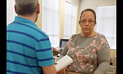 anti-gay county clerk Kim Davis