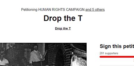 Drop the T