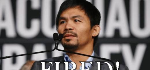 "Nike FIRES Manny Pacquiao After ""Gays Are Animals"" Hate Speech"