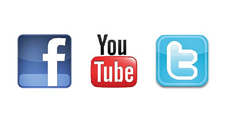 Twitter Youtube Facebook