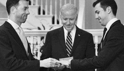 Vice President Joe Biden Officiates At Gay Wedding