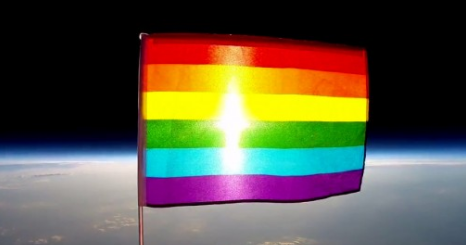 gays-in-space-first-lgbt-rainbow-pride-flag-launched-into-space-video
