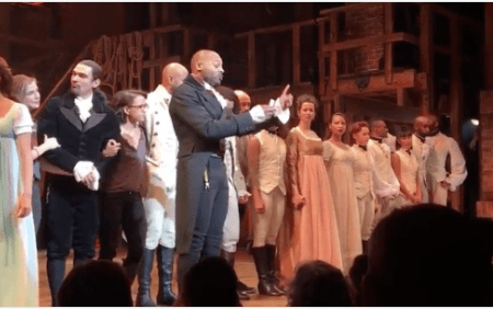 VP-Elect Mike Pence Booed at Broadway Hamilton Performance, Cast Addresses Him After Show - Videos