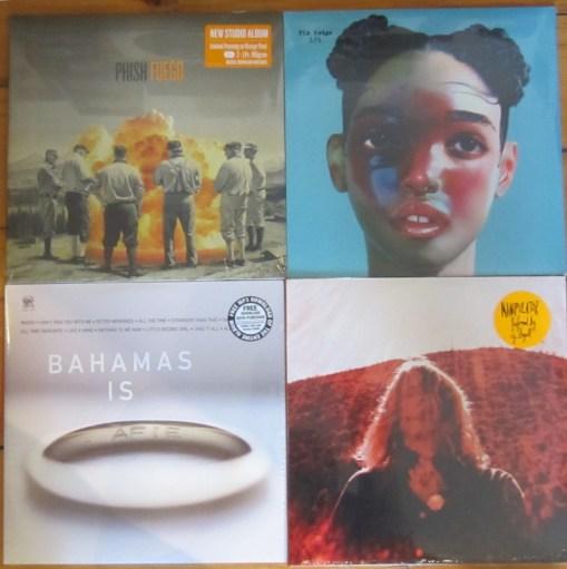 new vinyl Aug 30