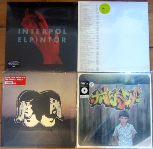 Sept 28 recent release vinyl