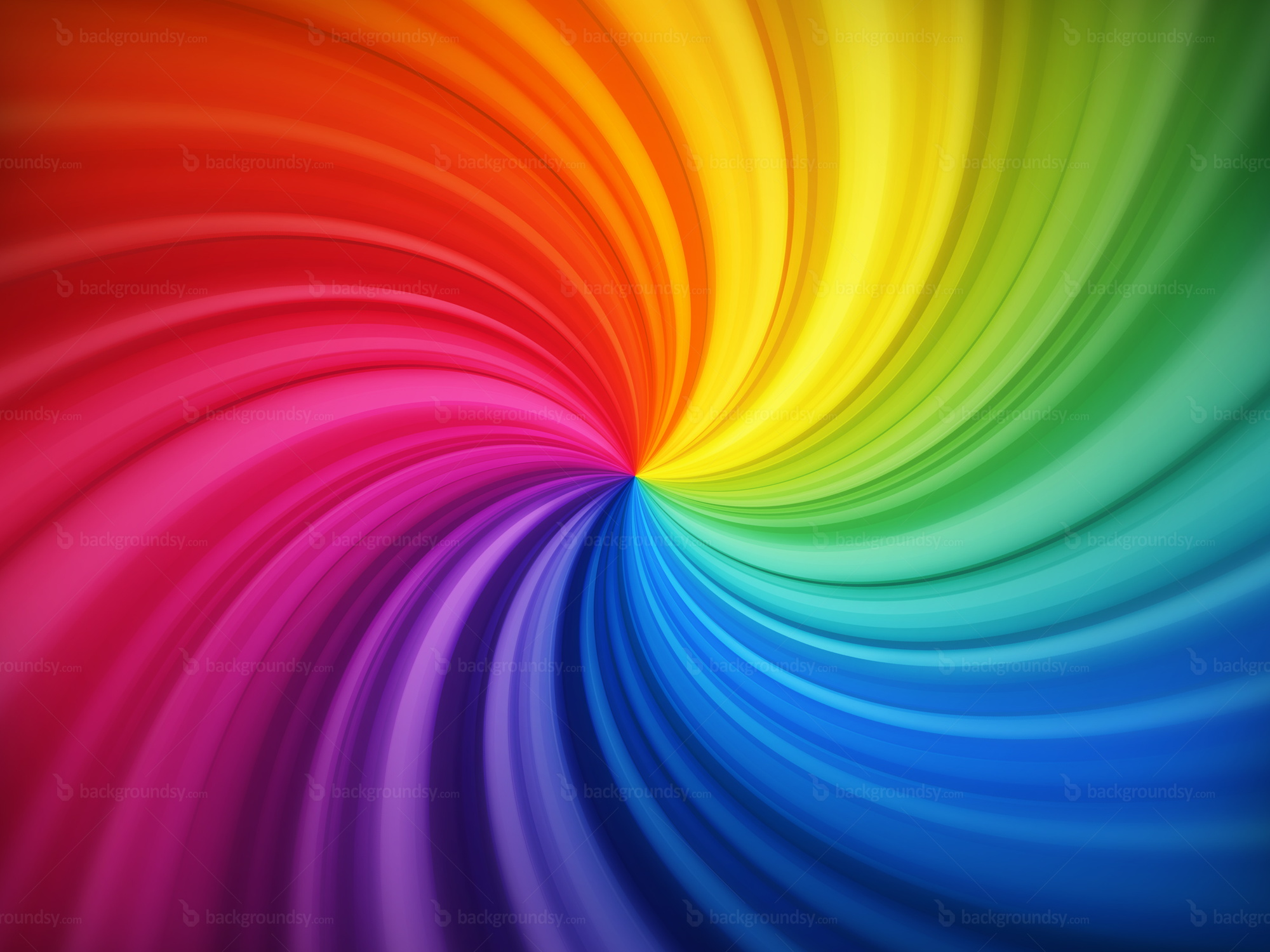 Spiral rainbow background   Backgroundsy com Spiral rainbow background