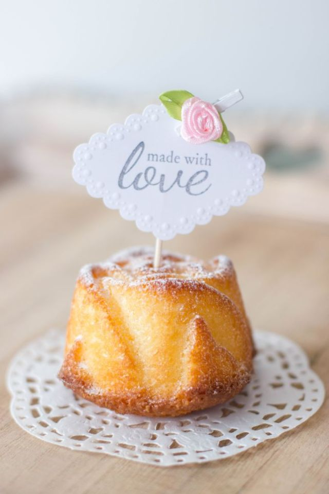 muffin made with love