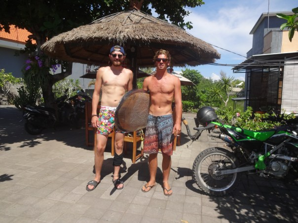 My German brother (Tillman) from another mother (Indonesia, 2016).