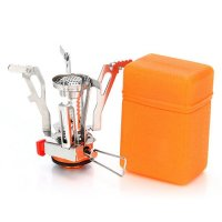 GOGOOUT® Camping Stoves with Piezo Ignition, Ultralight Portable Outdoor Backpacking