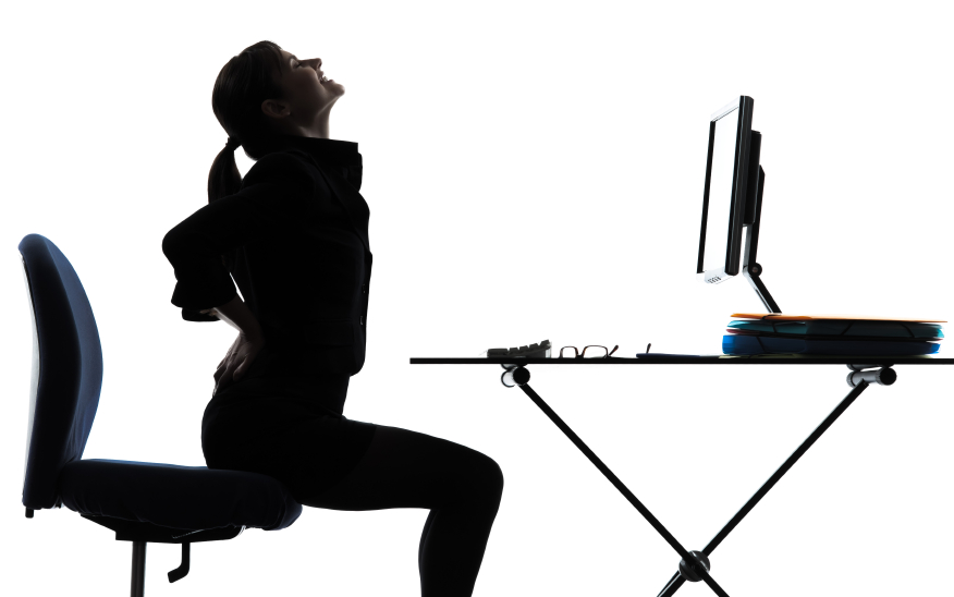 Brilliant Desk Chair For Back Pain Lower From Sitting On Design