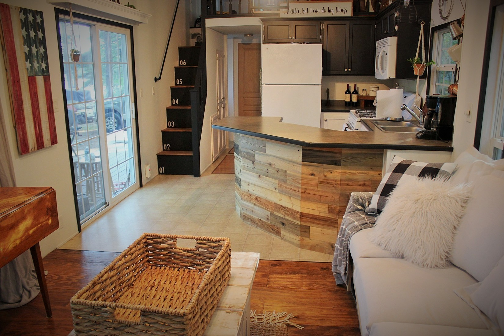 Enamour Stick Wood Updating Tiny House Kitchen Reclaimed Peel Back To Blueberry Tiny House Kitchen Units Tiny House Kitchen List curbed Tiny House Kitchen