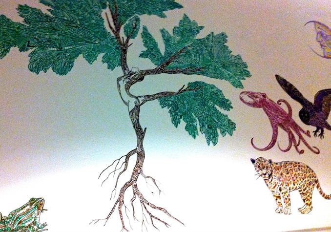 BYB - Cafe Gratitude Mural