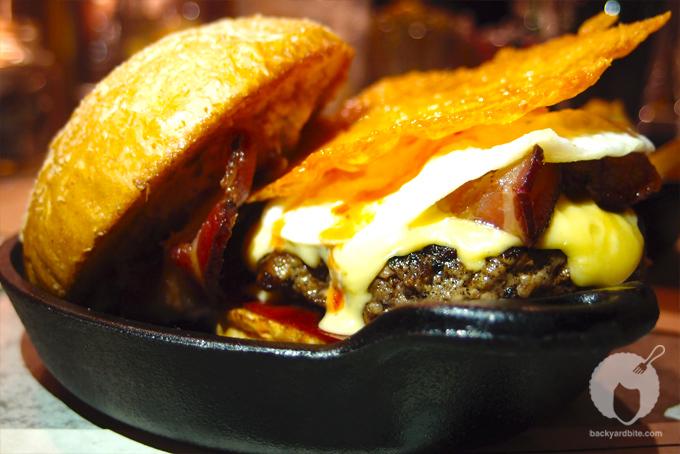 Plan Check Bar's Chef's Favorite Burger