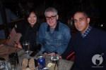 Stüssy designer Pauline Saunders, Nike's Fraser Cooke, UNDFTD's Eddie Cruz (@EddieCruz1)