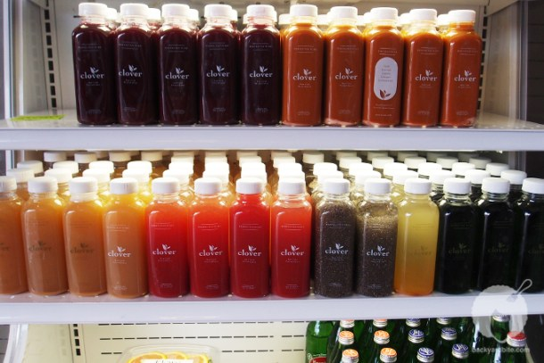 Cold Pressed Juices from Clover