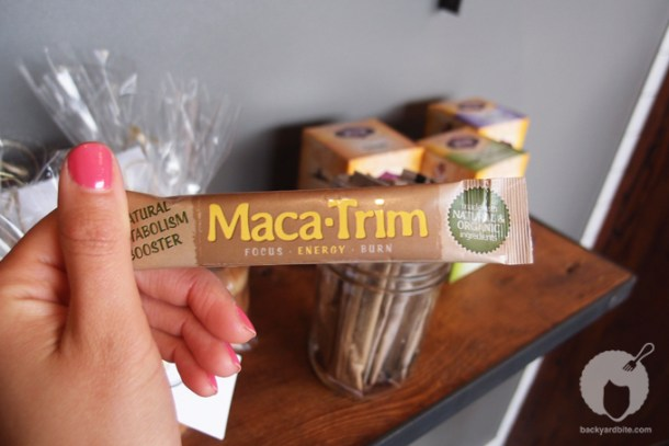 Maca-Trim metabolism boosters!