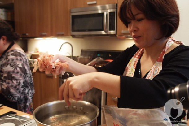 Yoko Isassi at Foodstory: Authentic Japanese Cooking in DTLA