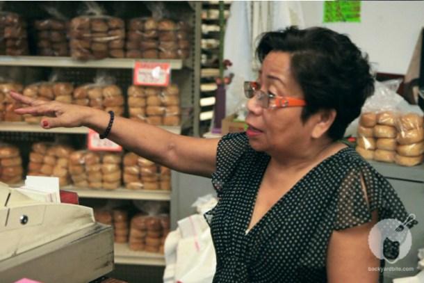 Andrea de Guzman owner of United Bakery