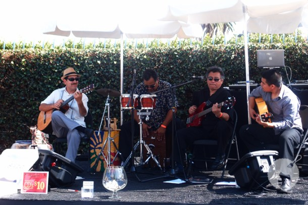 Live music at the 8th Annual LA Wine Festival