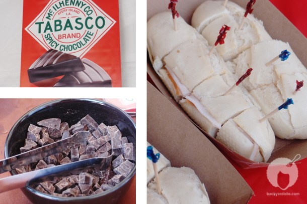 Tabasco spicy chocolates and tapas by Espana Montado