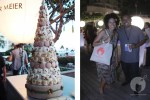 Macaron tower and an old pal, Top Chef's Sheldon Simeon!