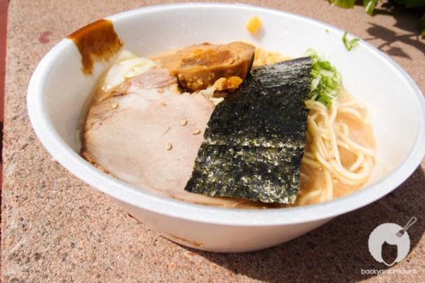Tajima from San Diego: Bonito flavor broth, therefore, there was a slight fishy taste, nice chewy noodles, seasoned egg. pork was slightly dried out.