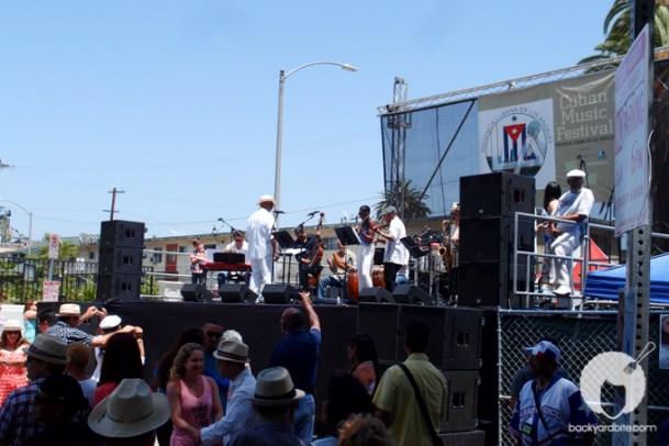 Live Salsa band!