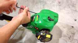 Serene How To Fix Recoil Spring On A Weed Eater Weed Eater Guides Ryobi Weed Eater Parts Ryobi Weed Eater 40v