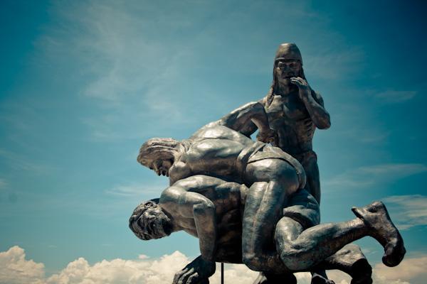 Santa Marta Colombia sculpture