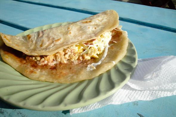 baleada Honduras