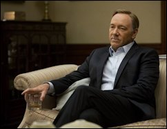 """Kevin Spacey in """"House of Cards."""" If there's one business nastier than politics it's Hollywood."""