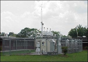 Henrico County air quality monitoring station