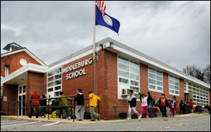 Middleburg Community Charter School, one of seven charter schools in Virginia.