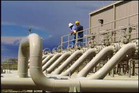 Questar pipeline operations