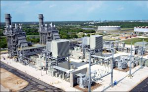 The Greensville power station will use technology similar to that used in Dominion's combined-cycle natural gas plant in Brunswick County, pictured here.