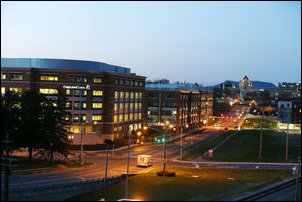 Virginia Tech Carolion Research Institute and medical school. Photo credit: Roanoke Times