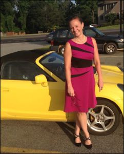 "When Bacon's Rebellion caught up with Sara Carter, Appomattox County supervisor, she was driving this snappy yellow two-seater. She insists that she normally drives a ""mom"" car, but when she, her husband and kids start playing musical chairs with cars, she sometimes ends up with her husband's ""midlife-crisis car."""