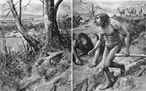 Amédée Forestier's imaginative reconstruction of Hesperopithecus