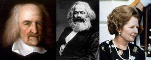 Thomas Hobbes, Karl Marx and Margaret Thatcher