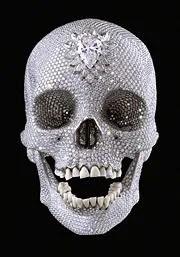 Damien Hirst's Diamond Skull