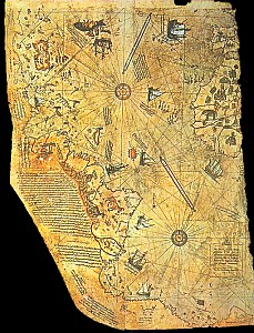 The Piri Re'is map of 1513